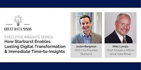 How Starburst Enables Digital Transformation + Immediate Time-to-Insights tickets