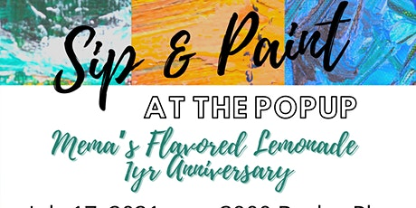 Sip & Paint @ The Popup tickets