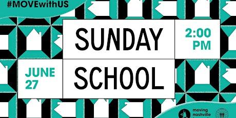 Moving Nashville Forward's Sunday School tickets