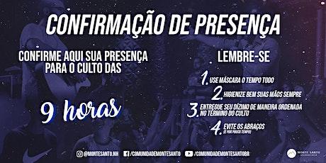 Culto de Domingo (09H) - Monte Santo NH ingressos
