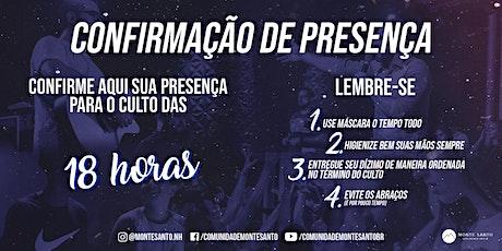Culto de Domingo (18H) - Monte Santo NH ingressos