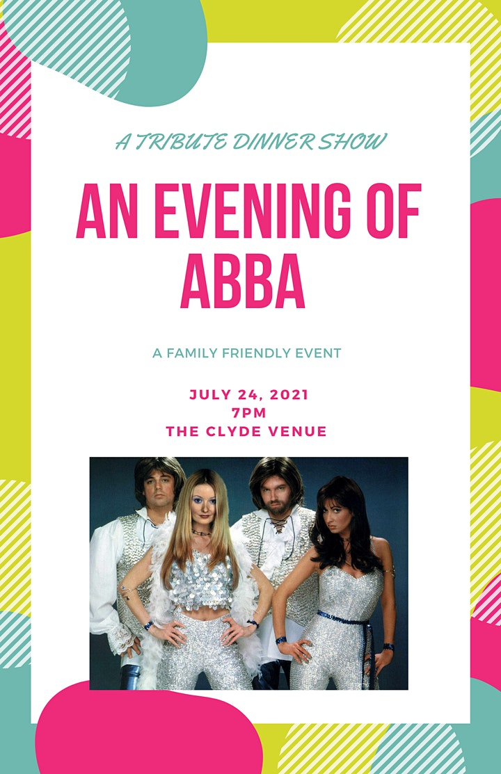 An Evening of ABBA- A Tribute Dinner Theater image