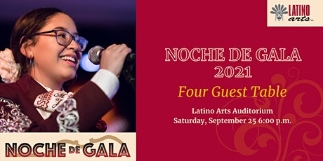 Noche de Gala 2021 Table of Four tickets