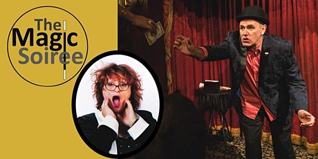The Magic Soiree - magic comedy dinner show (ticket price includes dinner) tickets
