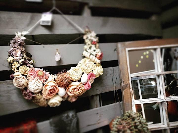 Dried Floral Lunar Wreath - Sept  9 image