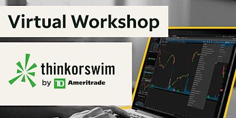 thinkorswim® Platform Virtual Workshop Q&A Session entradas