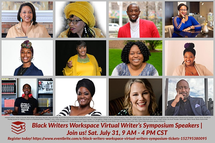 Black Writers Workspace  Virtual Writer's Symposium image