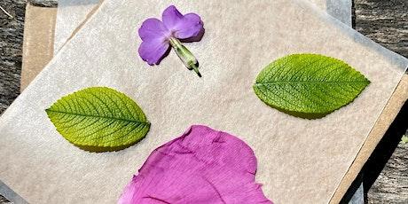 DIY Flower Press tickets