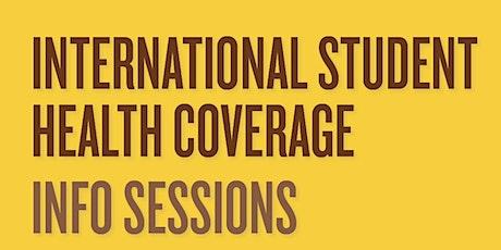 Manitoba International Student Health  Plan (Aug 26) tickets