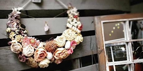 Dried Floral Lunar Wreath - Sept  9 tickets