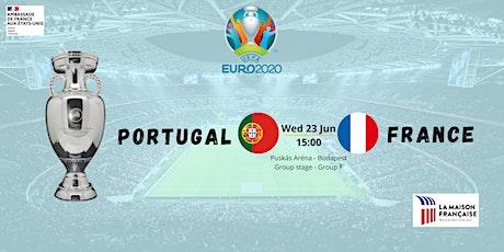UEFA EURO 2020:  FRANCE vs. PORTUGAL tickets
