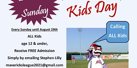 FREE Kids Day at Volcanoes Stadium tickets