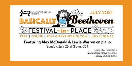 Basically Beethoven Festival-in-Place: July 25 tickets