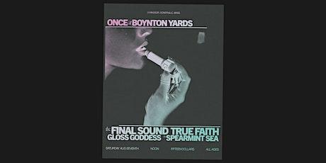 Dark Spring Boston IRL: True Faith, The Final Sound + more! tickets
