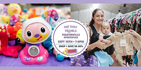 Half-Price Presale ┃Friday,  Sept 10th ($5/family) tickets