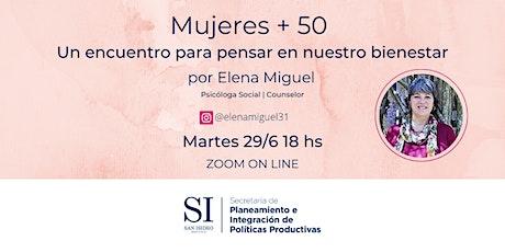 Mujeres + 50 por Elena Miguel entradas