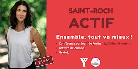 Saint-Roch actif avec le Défi Ensemble, tout va mieux! billets