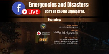 Emergencies and Disasters: Don't Be Caught Unprepared tickets