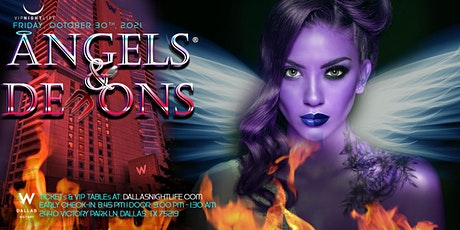 W Dallas Halloween Party - Angels & Demons tickets