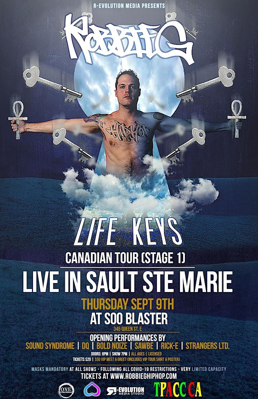 Robbie G live in Sault Ste. Marie Sept 9th at Soo Blaster image