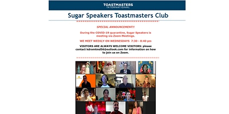 Toastmasters Weekly Meeting - Sugar Land, TX tickets