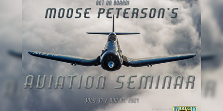 Get on Board! Aviation Seminar w/ Nikon Ambassador Moose Peterson! tickets