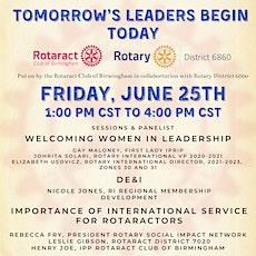 Tomorrows Leaders Begin Today tickets