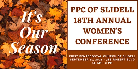 FPC of Slidell Women's Conference tickets