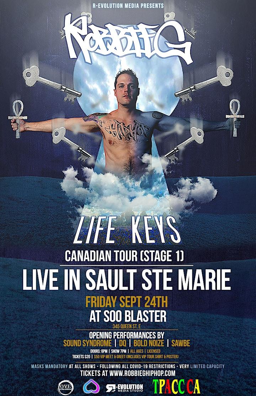 Robbie G live in Sault Ste. Marie Sept 24th at Soo Blaster image