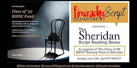 Firecracker Script Department Presents: The Sheridan Script Reading Series tickets