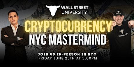 Crypto NYC Mastermind tickets