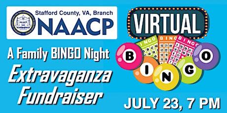 Virtual Family BINGO Night Extravaganza Fundraiser tickets