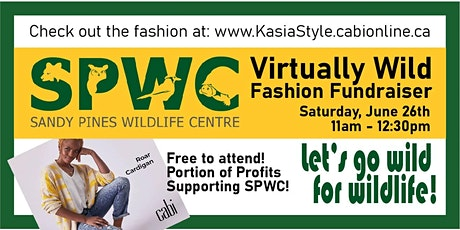 Virtually Wild Fashion Fundraiser for Sandy Pines Wildlife Centre tickets