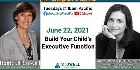 LD Expert Live! - Executive Function tickets