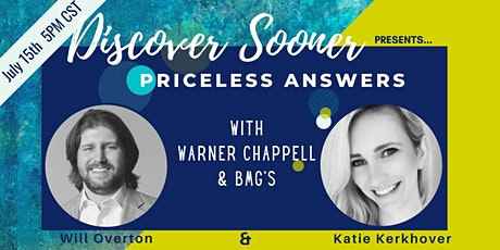 Priceless Answers With Will Overton and Katie Kerkhover tickets