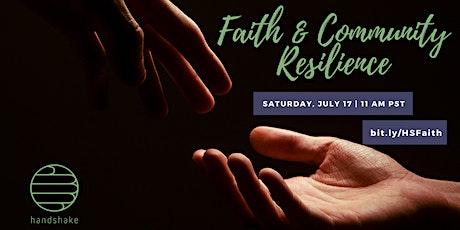 Faith & Community Resilience Open Forum tickets