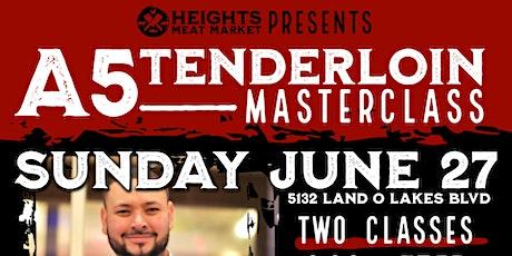 Japanese A5 Tenderloin Masterclass tickets