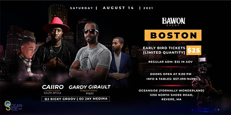 Caiiro & Gardy Girault in Boston tickets