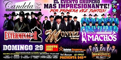 Grupo Exterminador   Montez De Durango   Banda Machos   Barones Del Norte tickets