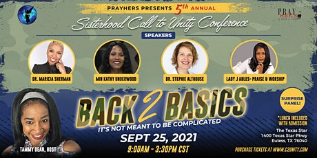 Back 2  Basics~ It's Not Meant To Be Complicated. tickets