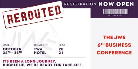 The JWE 6th Annual Business Conference tickets