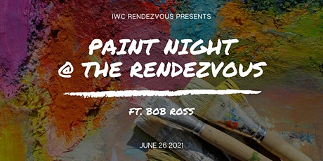 Paint Night @ The Rendezvous ft. Bob Ross tickets