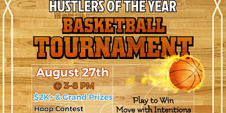 Commit to the Hustle - Basketball Tournament Edition tickets