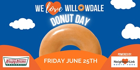 We Love Willowdale Donut Day tickets
