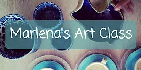 Marlena's Art Class! How to Make Foil Art! tickets
