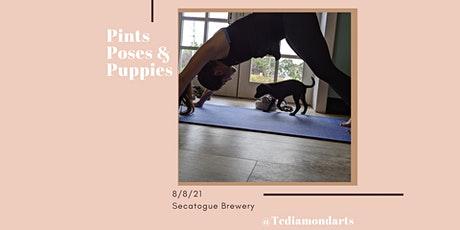 Pints,Poses and Puppies! tickets