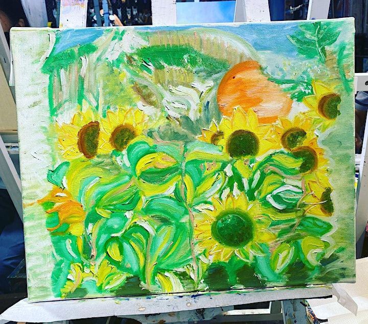 Fun & Lifestyle - Oil Painting Class image