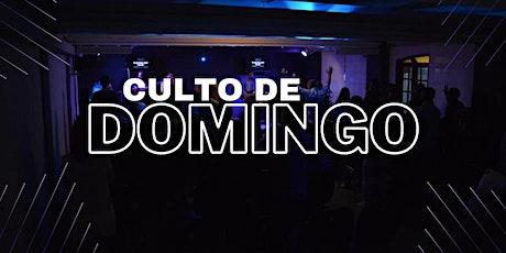 Culto de Domingo (SEGUNDO CULTO) - 18h30 ingressos