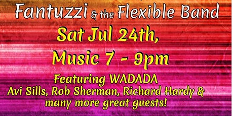 Fantuzzi & The Flexible Band Celebration tickets