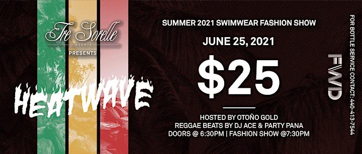 "Tre Sorelle Events Presents: ""HEATWAVE"" Summer 2021 Swimwear Fashion Show image"
